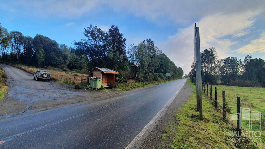 Oportunidad Terreno sector Tey, orilla de Ruta Castro-Rilan, Potencial Comercial